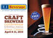 EJ Beverage Highlights PVC FREE Beer Lines at the Craft Brewers...