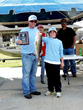 Lunker (Big Fish): Brian and Flint Davis, Big Fish weight of 6.35