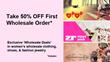 Fast Fashion Wholesale Magazine Announces '50% Off Wholesale...