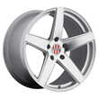 Porsche Wheels by Victor Equipment - the Baden in Silver with Mirror Cut Face