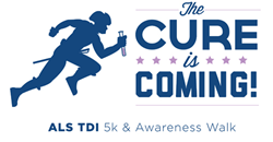 Cure is Coming logo