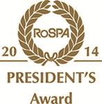 RoSPA Presidents Award Logo 2014