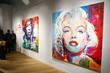 Voka's representations of Jimi Hendrix & Marilyn Monroe