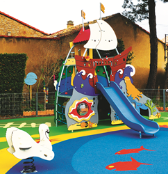 KOMPAN The Smart Playground™ - Hans Christian Andersen's The Little Mermaid theme