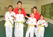 Black Belt Event at Mountain Taekwondo Grand Opening