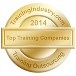 TrainingIndustry.com 2014 Top Training Outsourcing Company award seal