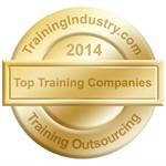 TrainingIndustry.com 2014 Top Training Outsourcing Company award seal