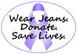 Wally's Party Factory Helps Promotes Cancer Awareness with Jeans...