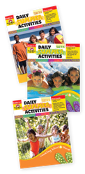image of Daily Summer Activities book covers