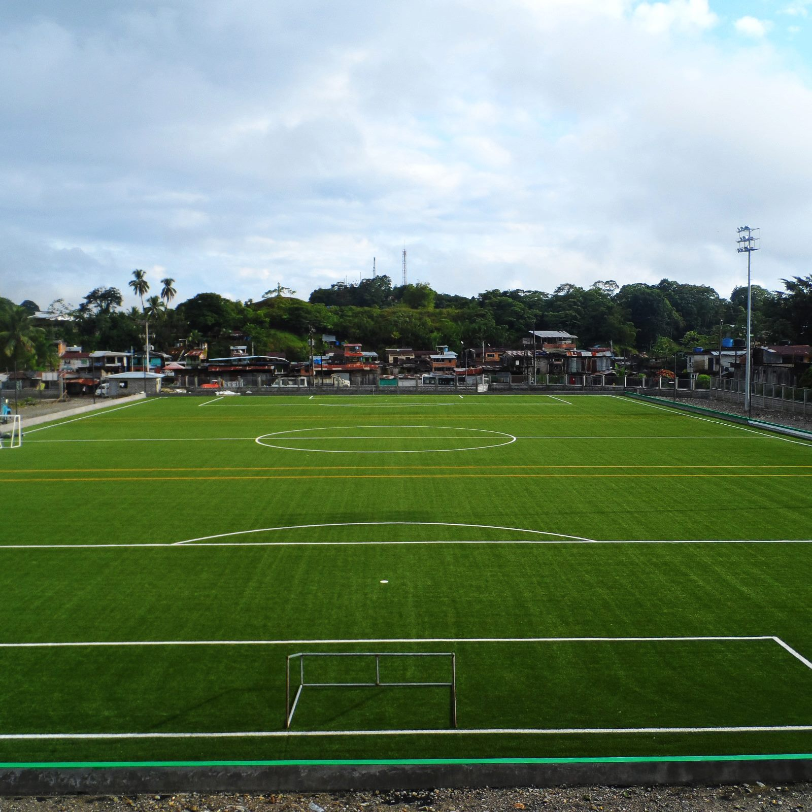 Fifa Quality Synthetic Turf Field Provides Social Impact