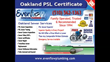 Oakland Private Sewer Lateral Ordinance Scams and PSL Certificate...