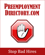 PreemploymentDirectory.com Announces Screening Industry Thought...
