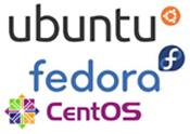 Fedora vs CentOS vs Ubuntu