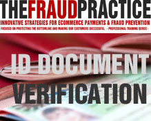 Course in online identity document verification