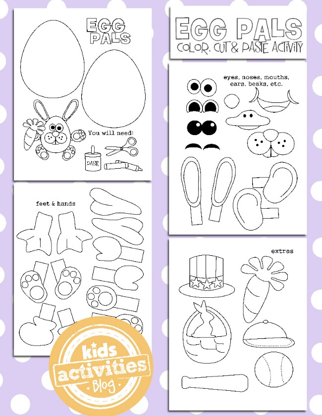 Visit Our Easter Worksheets Puzzles And Crafts Page To Together With ...