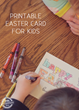 Awesome Printable Easter Card Has Been Released On Kids Activities...