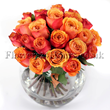 Orange Roses for Online Deliveries! Send flower to London with Flowers24hours, an award-winning London florist and flower delivery shop