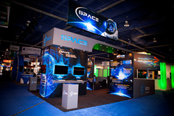 Trade Show Display for GBLabs at NAB from Absolute Exhibits