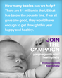 Join YouGiveGoods in the Fight to Help Infants and Toddlers Living in...