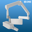 The DRE RCX is available in a wall-mount configuration or on a portable stand for practices with mobile needs.