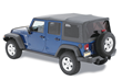 Bestop Supertop NX Soft Top for Jeep JK Wrangler