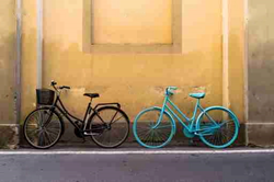 Cycling in Florence Italy