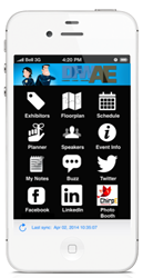 DFWAE A-Day Mobile App for iOS, Android, and web-enabled phones