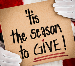 Its time for giving