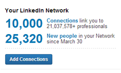 10k LinkedIn Connections