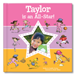 "I See Me!'s  ""I'm an All-Star"" personalized storybook teaches your child how to be a great team player."