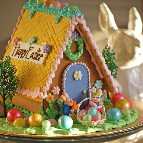 announces its Spring Gingerbread Houses for Easter Easter Gingerbread ...