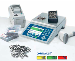 Using weight to control quality is a fast and accurate way to ensure products are complete and of the desired quality.
