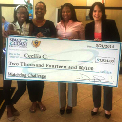 2014 Watchdog Challenge winner Cecilia C.
