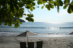 Tulemar with its secluded beach is a popular tropical destination in Costa Rica.