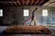 Floor Malting at Coppersea Distillery