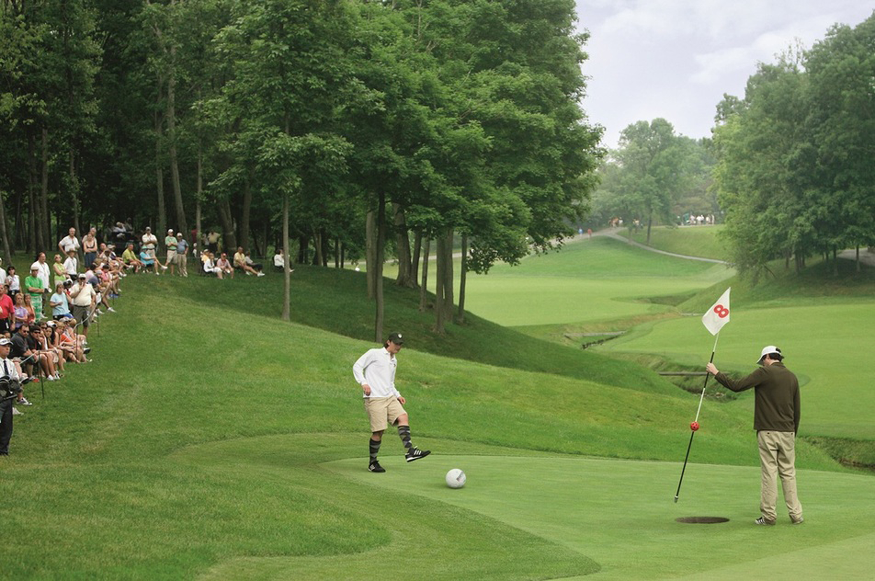 Lakeside Home Plans Traverse City Golf Courses Introduce Quot Footgolf Quot To Local Links
