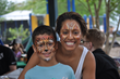 Everyone enjoyed face painting at the OAC Surrogate Mother Picnic