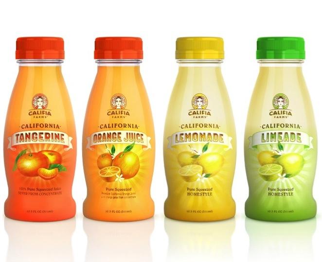 Lemon Law California >> Califia Farms Introduces Single Serve Sunshine: 10.5 oz. California Pure Tangerine, Orange Juice ...