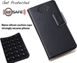 RF Safe cell phone radiation flip case stays firmly in place with mini suction cups
