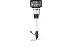 20 Watt Perko Post Mount Equipped with Red and Green Running Lights