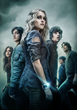 (L-R): Marie Avgeropoulos, Thomas McDonell, Eliza Taylor, Devon Bostick, Chris Larkin and Bob Morley star in the sci-fi drama series THE 100, airing Wednesdays at 9/8c on The CW.