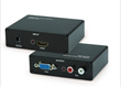 HDMI to VGA+R/L Audio Converters