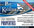 Port of Kalama industrial properties and buildings