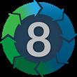 8 Step Logo