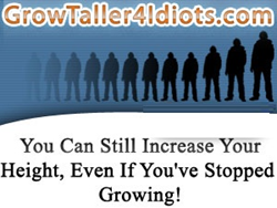 Grow Taller 4 Idiots Review | How To Grow Taller By 2-4 Inches Within 8 Weeks?