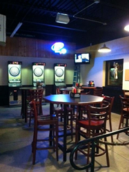 affordable seating helps golden q sports bar and grill in hays ks update its seating bar furniture sports bar