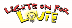 "Logo for ""Lights On for Louie"""