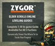 Zygor's Elder Scrolls Online Leveling Guide is Now Live! Players Rejoice