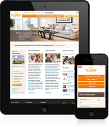 Sunrise Senior Living Mobile Site Experience