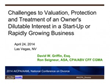 Challenges to Valuation, Protection and Treatment of an Owner's Dilutable Interest in a Start-Up or Rapidly Growing Business